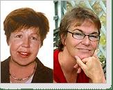 Margaretha Jägerstad och Margareta Törnqvist
