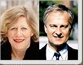 Agnes Wold och Bert Björkner
