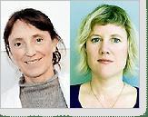 Eva Millqvist och Christine Wennerås