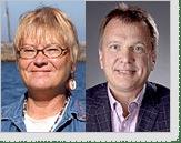 Hilde Nybom och Bert van Bavel