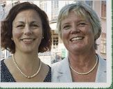 Eva Sverremark-Ekström och Anna-Carin Olin